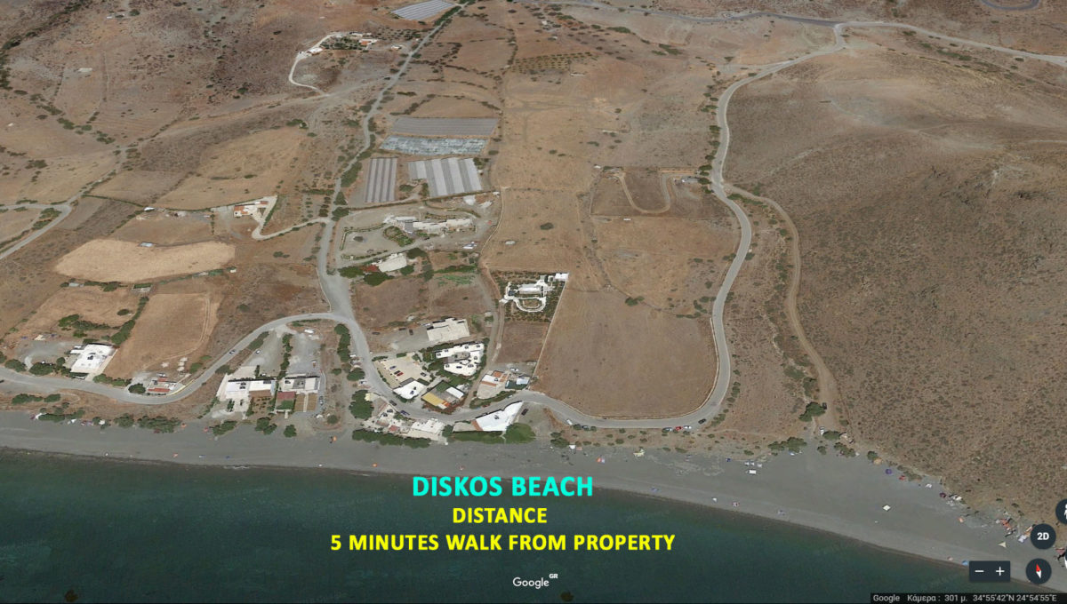 Property near Diskos Beach Crete island