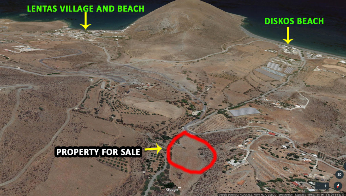 Property for sale south Crete island