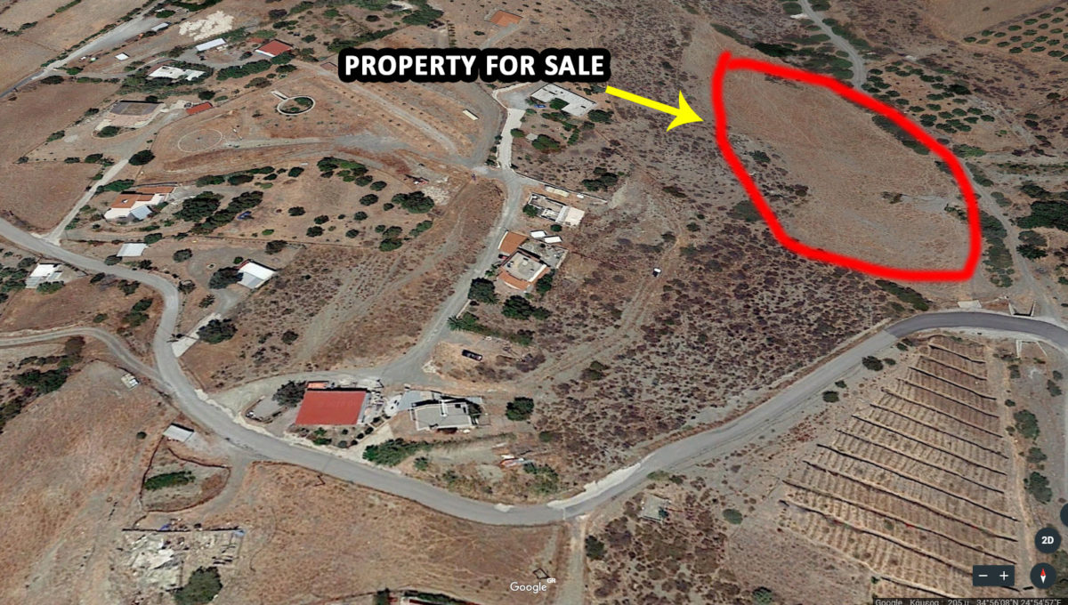 Property For Sale near Papagiannis village Crete