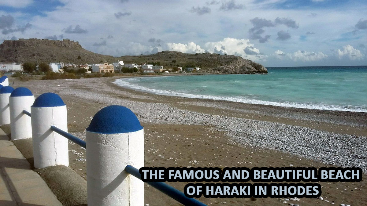 Opportunity: Plot just next to the sea in Haraki, Rhodes