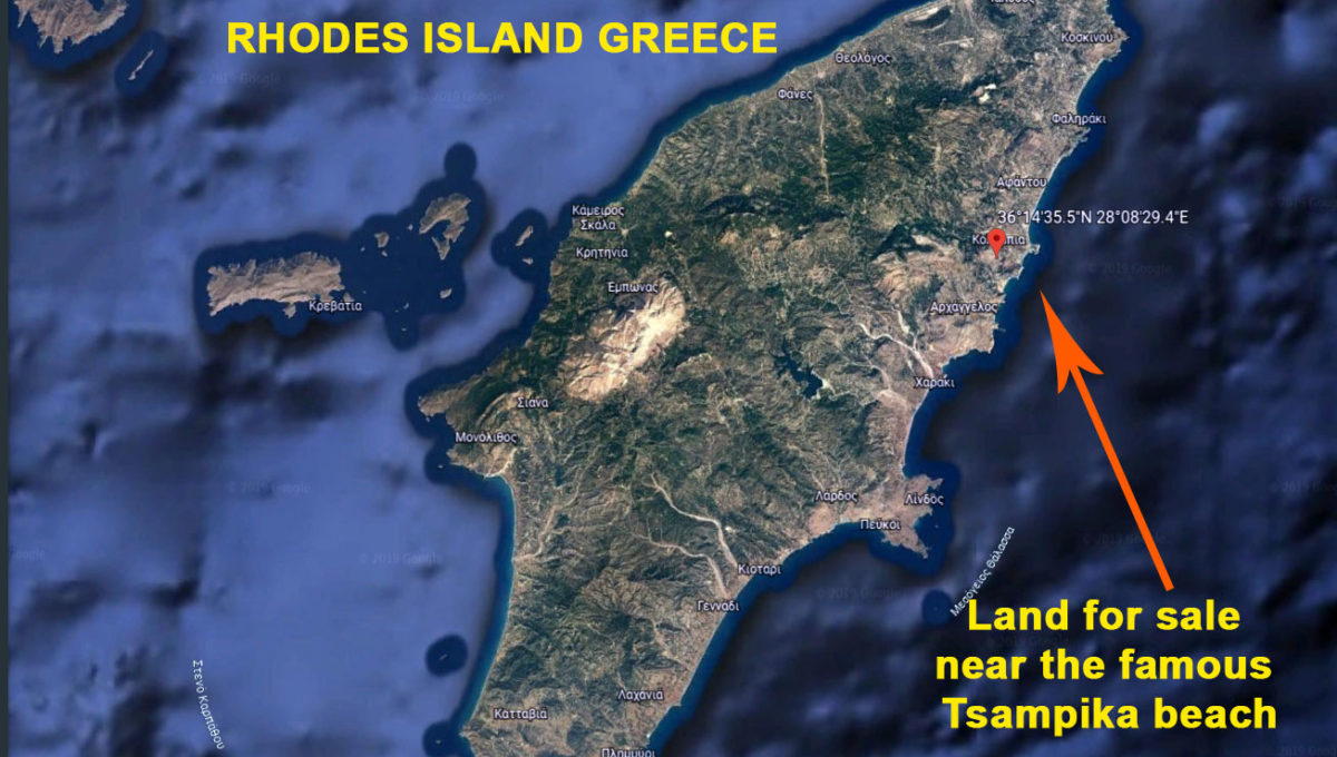 Rhodes Land for sale