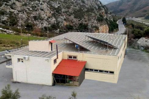 Factory near Heraklion for sale