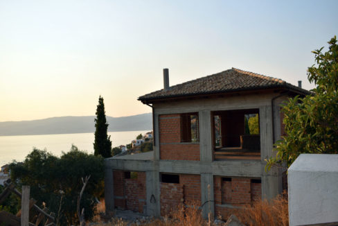 Hydra island stone villa for sale