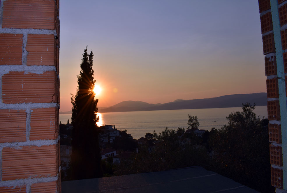 Hydra argosaronic stone villa for sale