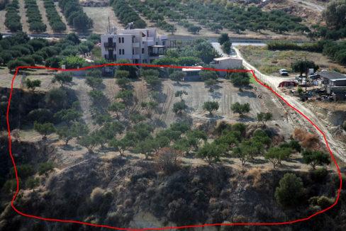 Karteros Heraklion land for sale