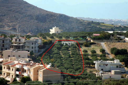 Plot for sale in Elia village