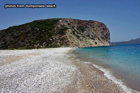 Komponada beach kythira